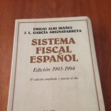 Libros de segunda mano: SISTEMA FISCAL ESPAÑOL. Lote 135320567