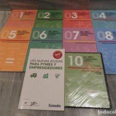 Libros de segunda mano: LOTE 10 LIBROS DE ECONOMIA - IVA - IRPF Y TRANSMISIONES PRACTICO 2009 PARA PROFESIONALES Y EMPRESARI. Lote 136178550