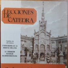 Libros de segunda mano: LECCIONES DE CÁTEDRA. Lote 136278457