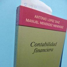 Libros de segunda mano: CONTABILIDAD FINANCIERA. LÓPEZ DÍAZ, ANTONIO. MENÉNDEZ MENÉNDEZ, MANUEL. ED. AC. MADRID 1991. Lote 136333518