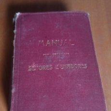 Libros de segunda mano: MANUAL SEÑORES SENADORES. Lote 136549933