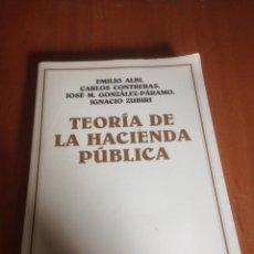 Libros de segunda mano: TEORÍA DE LA HACIENDA PÚBLICA. Lote 136561138