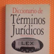 Libros de segunda mano: DICCIONARIO DE TÉRMINOS JURÍDICOS. PIERRE COLONNA D'ISTRIA. ACENTO. 1996. 92 PÁGINAS.. Lote 136599730
