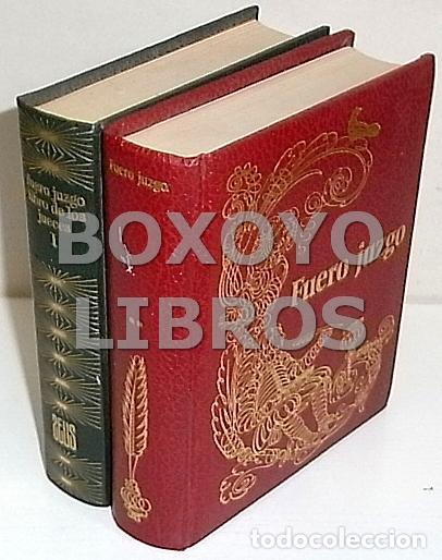 FUERO JUZGO O LIBRO DE LOS JUECES (Libros de Segunda Mano - Ciencias, Manuales y Oficios - Derecho, Economía y Comercio)