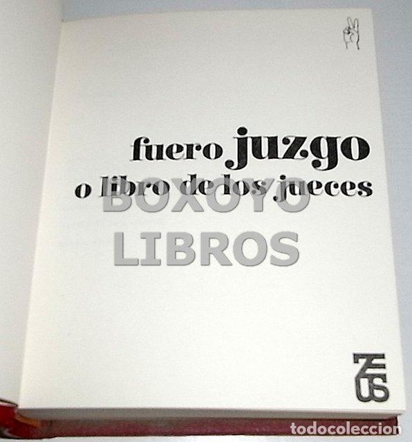 Libros de segunda mano: Fuero juzgo o Libro de los Jueces - Foto 3 - 137271118