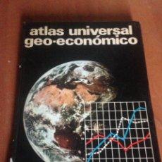 Libros de segunda mano: ATLAS UNIVERSAL GEO-ECONÓMICO. EDITORIAL TEIDE, S. A. INSTITUTO GEOGRÁFICO DE AGOSTINI.. Lote 137366298