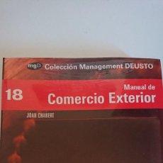 Libros de segunda mano: MANUAL DE COMERCIO EXTERIOR. Lote 137746614