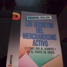Libros de segunda mano: LOS SECRETOS DEL MERCHANDISING ACTIVO. Lote 138110356