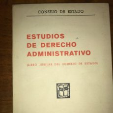 Livros em segunda mão: ESTUDIOS DE DERECHO ADMINISTRATIVO (LIBRO JUBILAR DEL CONSEJO DE ESTADO). Lote 139223557