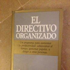 Libros de segunda mano: EL DIRECTIVO ORGANIZADO (STEPHANIE WINSTON) FOLIO. Lote 139625993