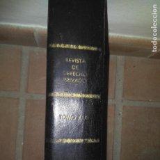 Libros de segunda mano: REVISTA DEL DERECHO PRIVADO. TOMO XXXI 1947. Lote 139648894