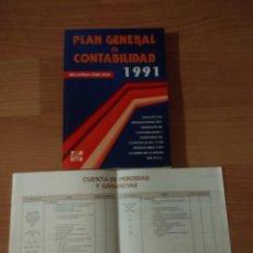 Libros de segunda mano: PLAN GENERAL DE CONTABILIDAD 1991.SEGUNDA EDICIÓN. MCGRAW HILL. Lote 139649242