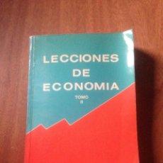 Libros de segunda mano: LECCIÓNES DE ECONOMÍA. Lote 139713965