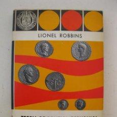 Libros de segunda mano: TEORÍA DE POLÍTICA ECONÓMICA - LIONEL ROBBINS - EDICIONES RIALP - AÑO 1966.. Lote 140011390