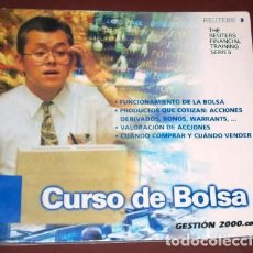 Libros de segunda mano: CURSO DE BOLSA POR THE REUTERS FINANCIAL TRAINING SERIES DE GESTIÓN 2000 EN BARCELONA 2002. Lote 140446306