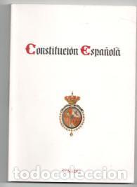 CONSTITUCIÓN ESPAÑOLA. EDICIÓN ESPECIAL SENADO (Libros de Segunda Mano - Ciencias, Manuales y Oficios - Derecho, Economía y Comercio)