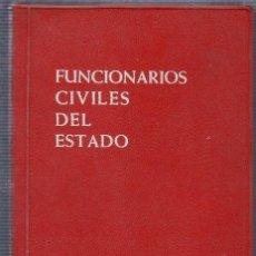 Libros de segunda mano: FUNCIONARIOS CIVILES DEL ESTADO. COLECCION LEX- ARANZADI. 1965.. Lote 141768074
