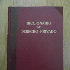 Libros de segunda mano: DICCIONARIO DE DERECHO PRIVADO. APENDICE. EDITORIAL LABOR. 1960. 942 PAGINAS. DEBIBL. Lote 142038030