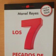 Libros de segunda mano: LOS 7 PECADOS DE LA EMPRESA. CUANDO LA EMPRESA PIERDE SU ALMA (MANEL REYES) PAIDÓS. Lote 142310298