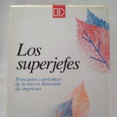 Libros de segunda mano: LOS SUPERJEFES, ROBERT HELLER, EDICIONES DEUSTO 94, LIBRO. Lote 142487170