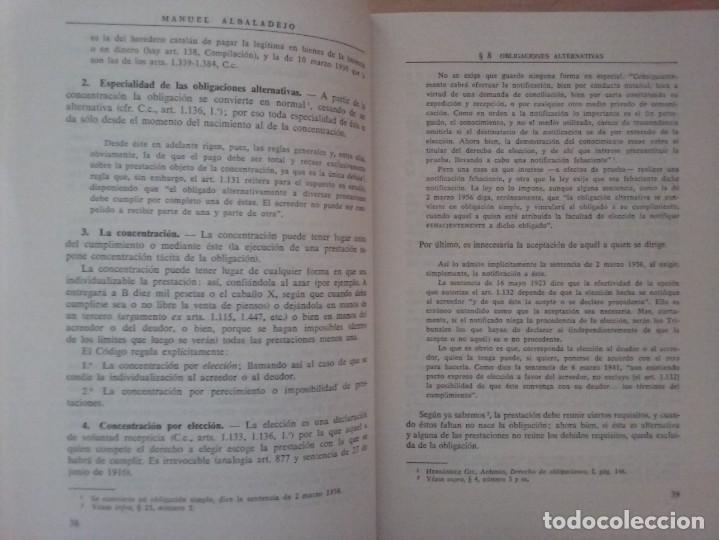 Libros de segunda mano: DERECHO CIVIL II. DERECHO DE OBLIGACIONES. LA OBLIGACIÓN Y EL CONTRATO EN GENERAL-MANUEL ALBALADEJO - Foto 2 - 142693306