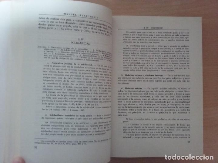 Libros de segunda mano: DERECHO CIVIL II. DERECHO DE OBLIGACIONES. LA OBLIGACIÓN Y EL CONTRATO EN GENERAL-MANUEL ALBALADEJO - Foto 3 - 142693306