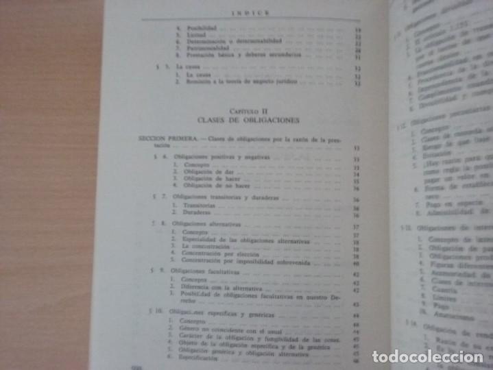 Libros de segunda mano: DERECHO CIVIL II. DERECHO DE OBLIGACIONES. LA OBLIGACIÓN Y EL CONTRATO EN GENERAL-MANUEL ALBALADEJO - Foto 5 - 142693306