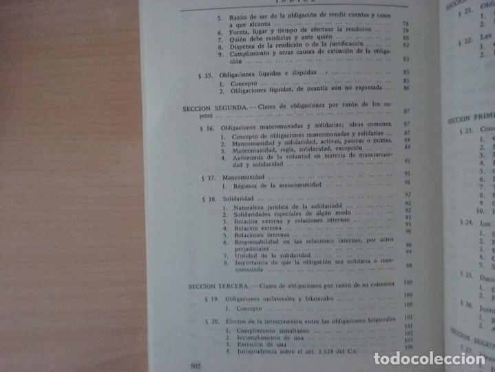 Libros de segunda mano: DERECHO CIVIL II. DERECHO DE OBLIGACIONES. LA OBLIGACIÓN Y EL CONTRATO EN GENERAL-MANUEL ALBALADEJO - Foto 7 - 142693306