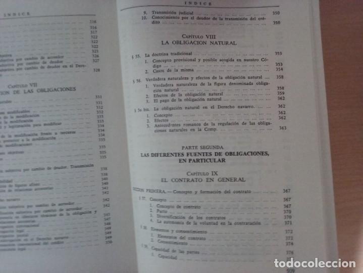 Libros de segunda mano: DERECHO CIVIL II. DERECHO DE OBLIGACIONES. LA OBLIGACIÓN Y EL CONTRATO EN GENERAL-MANUEL ALBALADEJO - Foto 15 - 142693306