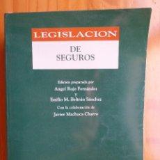 Libros de segunda mano: LEGISLACION DE SEGUROS ANGEL ROJO FERNANDEZ ARANZADI EDITORIAL 1998. Lote 143010994