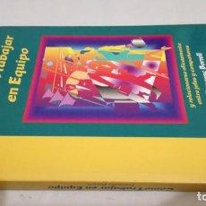 Libros de segunda mano: COMO TRABAJAR EN EQUIPO - FRANCESC BORRELL. Lote 143773930