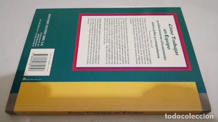 Libros de segunda mano: COMO TRABAJAR EN EQUIPO - FRANCESC BORRELL - Foto 2 - 143773930
