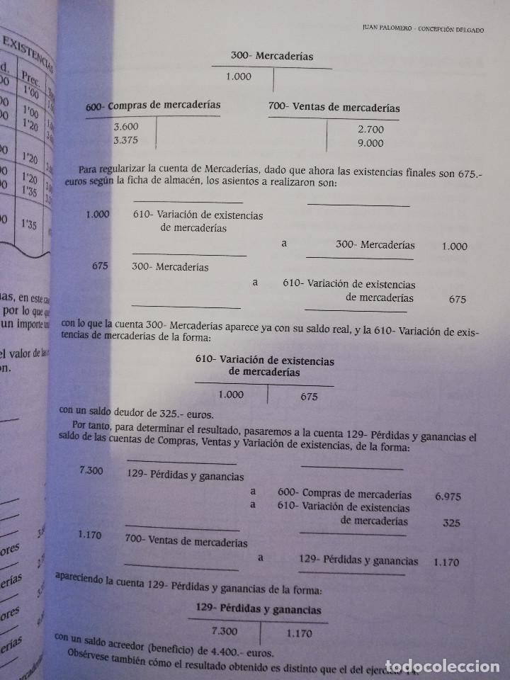 Libros de segunda mano: EJERCICIOS RESUELTOS Y PROPUESTOS DE CONTABILIDAD GENERAL (JUAN PALOMERO) - Foto 5 - 144614894