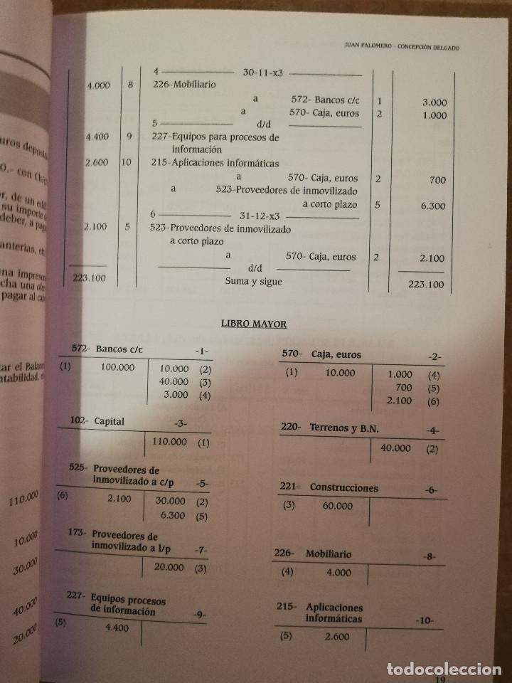 Libros de segunda mano: EJERCICIOS RESUELTOS Y PROPUESTOS DE CONTABILIDAD GENERAL (JUAN PALOMERO) - Foto 7 - 144614894