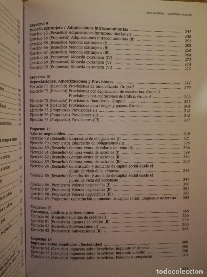 Libros de segunda mano: EJERCICIOS RESUELTOS Y PROPUESTOS DE CONTABILIDAD GENERAL (JUAN PALOMERO) - Foto 11 - 144614894