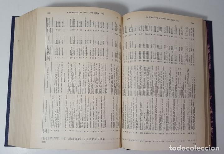 Libros de segunda mano: REPERTORIO CRONOLÓGICO DE LEGISLACIÓN. 38 TOMOS. EDIT ARANZADI. PAMPLONA. 1966/ 1986. - Foto 7 - 145509826