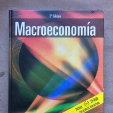 Libri di seconda mano: MACROECONOMÍA.OLIVIER BLANCHARD. ED. PEARSON PRENTICE HALL 2004. INCLUYE CD-ROM.. Lote 145702885
