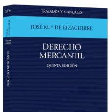 Libros de segunda mano: DERECHO MERCANTIL-JOSÉ Mª DE EIZAGUIRRE. Lote 145737634
