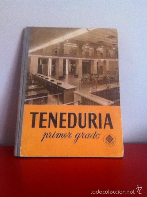 TENEDURÍA. ED. LUIS VIVES 1966 (Libros de Segunda Mano - Ciencias, Manuales y Oficios - Derecho, Economía y Comercio)