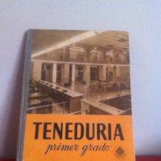 Libros de segunda mano: TENEDURÍA. ED. LUIS VIVES 1966. Lote 145983825