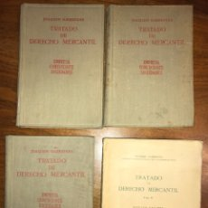 Libros de segunda mano: TRATADO DE DERECHO MERCANTIL, JOAQUÍN GARRIGUES. Lote 146412814