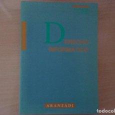 Libros de segunda mano: DERECHO INFORMÁTICO - MIGUEL ANGEL DAVARA RODRÍGUEZ. Lote 146425738