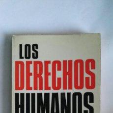 Libros de segunda mano: LOS DERECHOS HUMANOS TECNOS. Lote 146801249