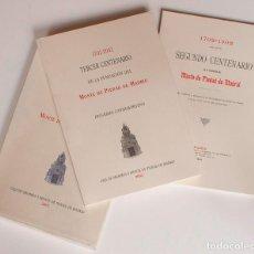 Libros de segunda mano: LIBROS CONMEMORATIVOS TERCER CENTENARIO DE CAJA MADRID. Lote 146887194