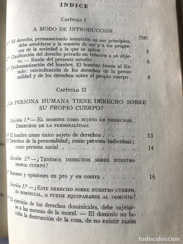 Libros de segunda mano: La persona humana, Antonio Borrell Maciá - Foto 4 - 147308144