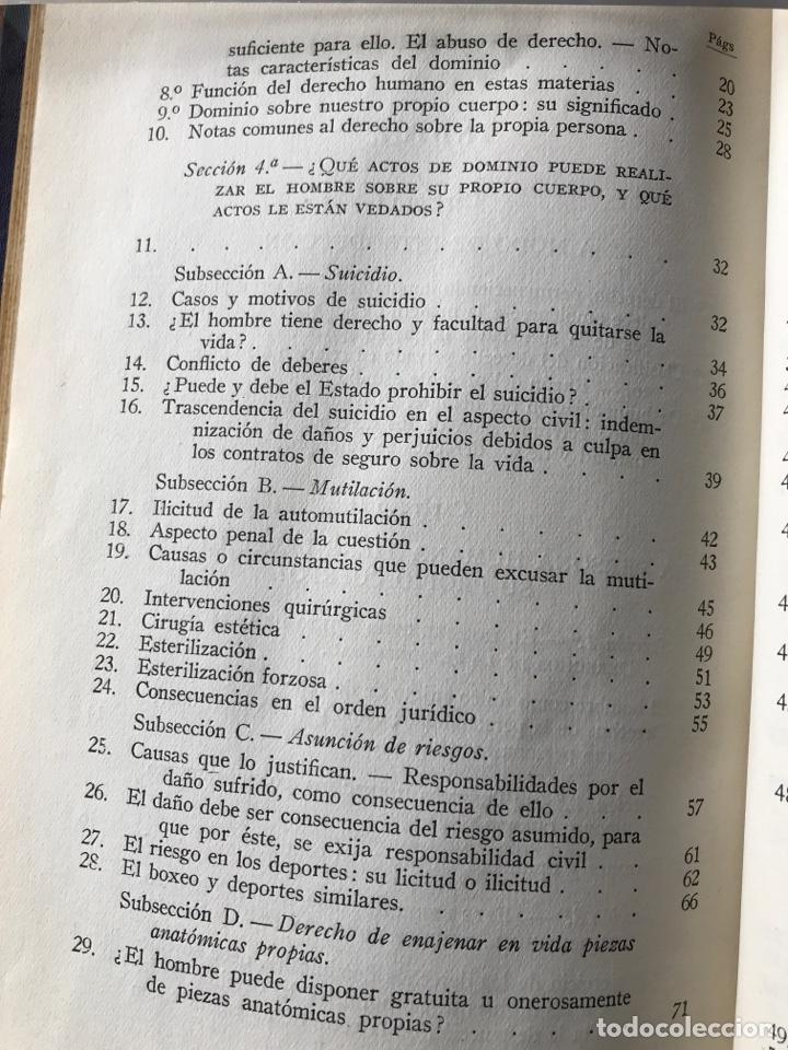 Libros de segunda mano: La persona humana, Antonio Borrell Maciá - Foto 5 - 147308144