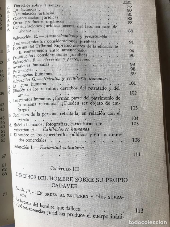 Libros de segunda mano: La persona humana, Antonio Borrell Maciá - Foto 6 - 147308144