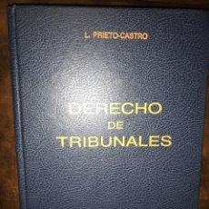 Libros de segunda mano: DERECHO DE TRIBUNALES - ORGANIZACIÓN, FUNCIONAMIENTO, GOBIERNO, LEONARDO PRIETO-CASTRO Y FERRÁNDIZ. Lote 147371430