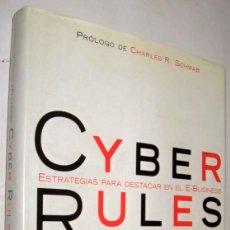 Libros de segunda mano: CYBER RULES - THOMAS M. SIEBEL - ENE. Lote 147508422