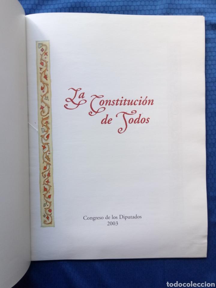 Libros de segunda mano: LA CONSTITUCIÓN DE TODOS CONGRESO DE LOS DIPUTADOS 2003 - Foto 2 - 148142270